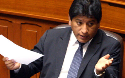"""El vocero de la bancada Gana Perú, Josué Gutiérrez, afirmó que la recaptura de Martín Belaunde Lossio ocurrida este jueves en Bolivia prueba que el Gobierno no utilizó este tema como una cortina de humo ni se involucró """"en un contubernio"""" con esta nación a fin de facilitar su fuga."""