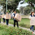 CNM: ONPE traslada material para elecciones en Lima y Callao