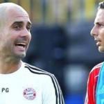 Pep Guardiola quiere a Claudio Pizarro en el comando técnico del Bayern