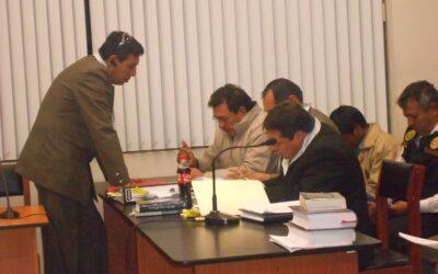 Nueve meses de prisión preventiva contra Pepe Julio Gutiérrez, dispuso el Poder Judicial. El dirigente antiminero es investigado por presunta extorsión y asociación ilícita para delinquir.