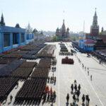 Rusia: un minuto de silencio en desfile por el Día de la Victoria