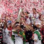 Europa League: Sevilla rey de copas al ganar su cuarto trofeo europeo
