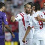 Europa League: Sevilla con un pie en la final al golear 3-0 a Fiorentina