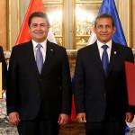 Perú y Honduras firman tratado de libre comercio