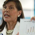 Virginia Baffigo presentó su renuncia a EsSalud