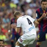 Xavi se despide con empate de Barcelona ante Deportivo La Coruña