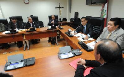 La comisión que investiga los supuestos actos de corrupción en Áncash pidió el levantamiento bancario, tributario y bursatil de Carlos Ramos Heredia y José Peláez Bardales.