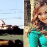 Selfie fatal: murió electrocutada por tomarse foto en techo de tren (Fotos)