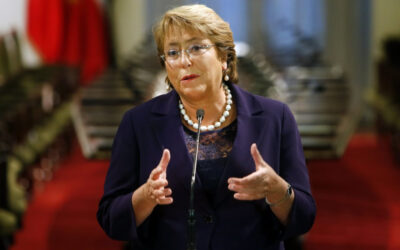 SANTIAGO.- La presidenta chilena Michelle Bachelet presentará su nuevo gabinete el lunes.