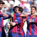 Barcelona humilla 8-0 al Córdoba con doblete de Lionel Messi