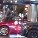 Suicide Squad: Batman y el Joker en persecución de autos (Vídeo)