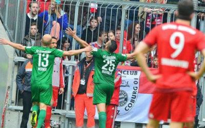 MÚNICH.- El Bayern Múnich cayó derrotado de local 1 a 0 ante el Augsburgo en juego válido por la fecha 32 de la Bundesliga. Raúl Bobadilla logra el único tanto del partido a los 70 minutos.