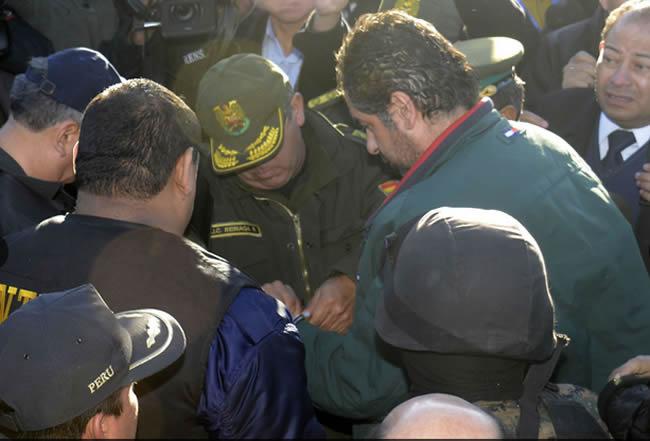 El presidente del Poder Judicial, Víctor Ticona, informó que Martín Belaunde Lossio, recluido en el Penal Ancón 1, tendrá un juzgamiento imparcial y con todas las garantías legales.