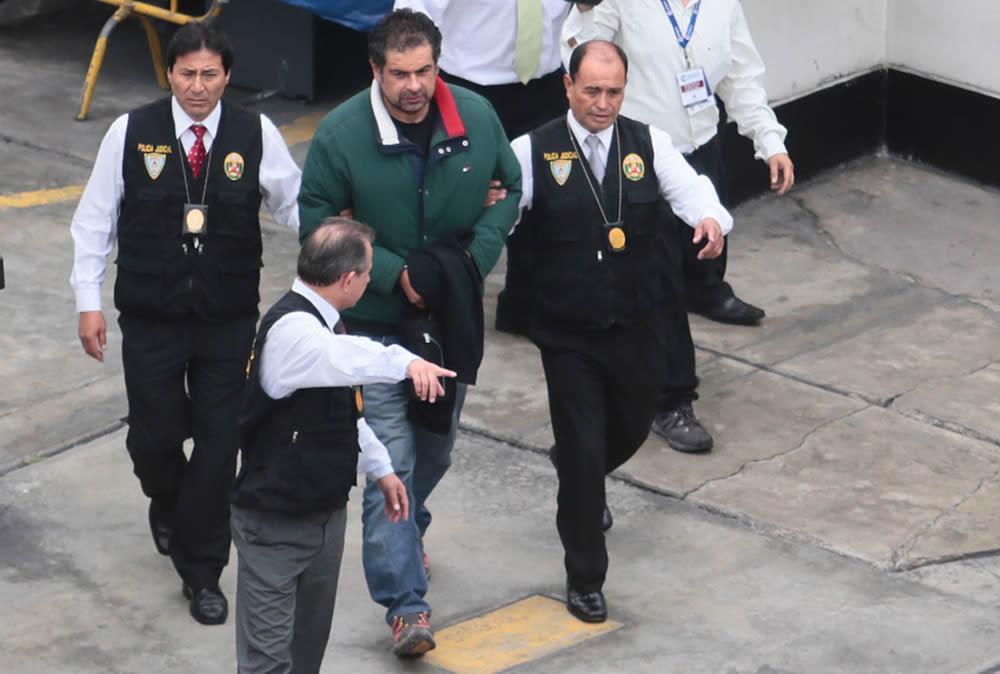 Martín Belaunde Lossio en Lima.