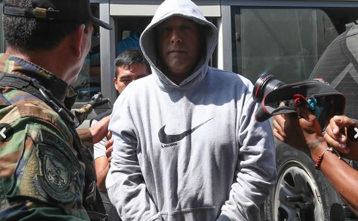 Las personas detenidas ayer martes por estar presuntamente vinculadas con la red de Rodolfo Orellana, fueron llevadas este miércoles hasta la Dirección Antidrogas (Dirandro).