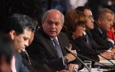 El presidente del Consejo de Ministros, Pedro Cateriano Bellido informó esta tarde que el Gobierno del Estado Plurinacional de Bolivia comunicó a la cancillería peruana la captura del prófugo Martin Belaunde Lossio.