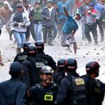 Tablada de Lurín: desalojo deja 3 policías heridos y 10 detenidos (Fotos)