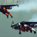 "Dubai: ""Hombres jet"" vuelan con propulsores turbo en ""mochilas"" (Video)"