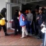 Colombia: universitarios y profesores expulsan a encapuchados
