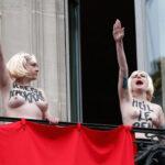 Francia: en topless irrumpen en mitin de ultraderecha (Video-galería)