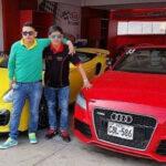Caso Gerald Oropeza: subastarán su Porsche, Audi y Ferrari
