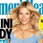 Gwyneth Paltrow, a sus 42 años, espectacular en portada de revista