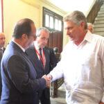 Cuba: Hollande pide poner fin al embargo de EEUU