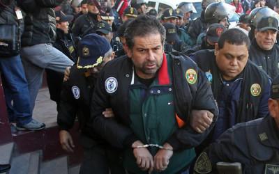 LA PAZ.- Antes de ser extraditado a Perú Martín Belaunde Lossio aceptó haber pagado a terceros con el fin de cubrir sus gastos y facilitar su fuga de la casa donde cumplía arresto domiciliaria en La Paz, anunció el ministro de Gobierno de Bolivia, Carlos Romero.