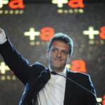 Argentina: opositor lanza su candidatura presidencial