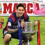Lionel Messi es el 'rey' tras golazo en la Copa del Rey (VIDEO)
