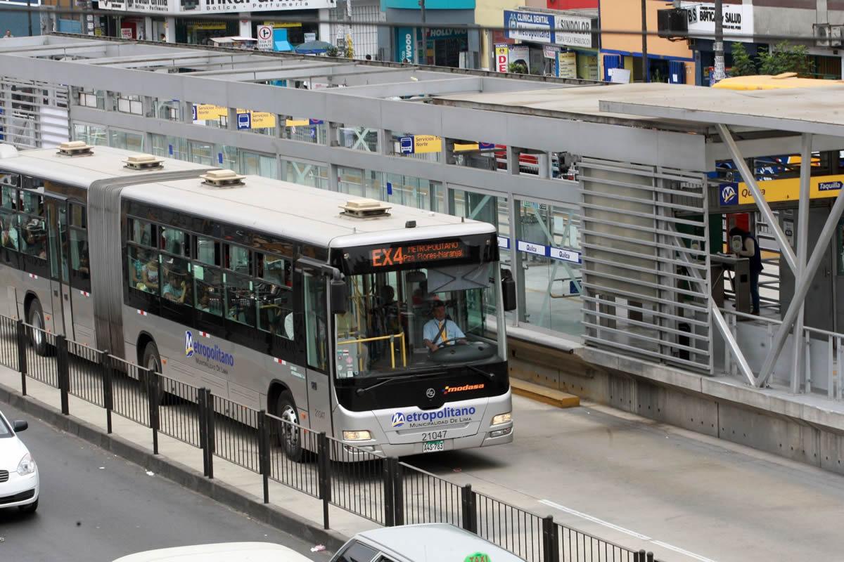 Este viernes a las 15.00 horas, las unidades de El Metropolitano detendrán su recorrido 10 minutos, con motivo del simulacro de sismo a nivel nacional, anunció Protransporte.