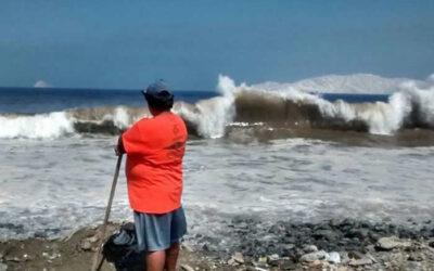 Los recientes leajes en el litoral peruano dejan hasta la fecha al menos ocho familias damnificadas y 87 afectadas, cuyas viviendas colapsaron y quedaron dañadas, de acuerdo con el último reporte del Instituto Nacional de Defensa Civil (Indeci).