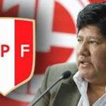 Piden a Edwin Oviedo pedir licencia en la FPF para que aclare situación legal