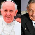 Papa Francisco recibirá este domingo a presidente cubano Raúl Castro