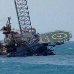 México: accidente en plataforma petrolera dejó 2 muertos (Videos)