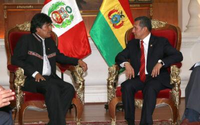 El 23 de junio se desarrollará el primer gabinete binacional entre Perú y Bolivia, con la asistencia de los presidentes Ollanta Humala y Evo Morales, respectivamente, anunció el Ministerio de Relaciones Exteriores.