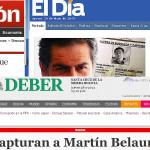 Martín Belaunde Lossio es capturado: así informó la prensa boliviana