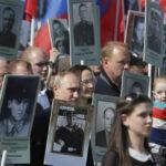 Rusia: Putin encabeza marcha en memoria de caídos en II Guerra Mundial