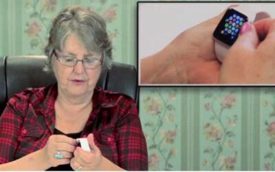 YouTube muestra hoy la reacción de un grupo de ancianos al utilizar por primera vez un Apple Watch. Los protagonistas del clip colgado en la plataforma de Google aseguran que es como contar con un iPhone en miniatura.