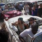 Cuba: espectacular gira de cantante Rihannaen la isla(Fotos)