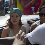 Rihanna provoca aglomeraciones en Cuba