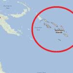 Dos sismos de magnitudes 6,9 y 6,8  sacuden a Islas Salomón