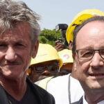 Sean Penn llega a Cannes en el avión presidencial francés