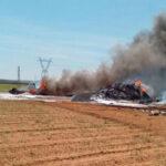España: accidente aéreo deja tres muertos en Sevilla