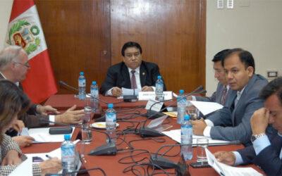 La Subcomisión de Acusaciones Constitucionales discutirá el martes 26 de mayo la denuncia constitucional contra Alan García, por las supuestas irregularidades en la venta del terreno del aeródromo de Collique.