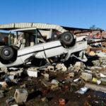 EEUU: tornados dejan 5 muertos, 8 desaparecidos y cuantiosos daños