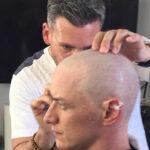 X Men: James McAvoy se corta el pelo para ser el Profesor X
