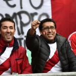 Perú vs. Brasil: hinchas de la 'bicolor' en Temuco (FOTOS)