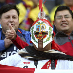Perú vs Colombia: fiel hinchada peruana presente en Temuco (FOTOS)