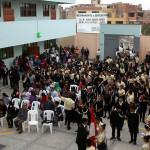 Región Callao construyó colegio en cerro La Regla